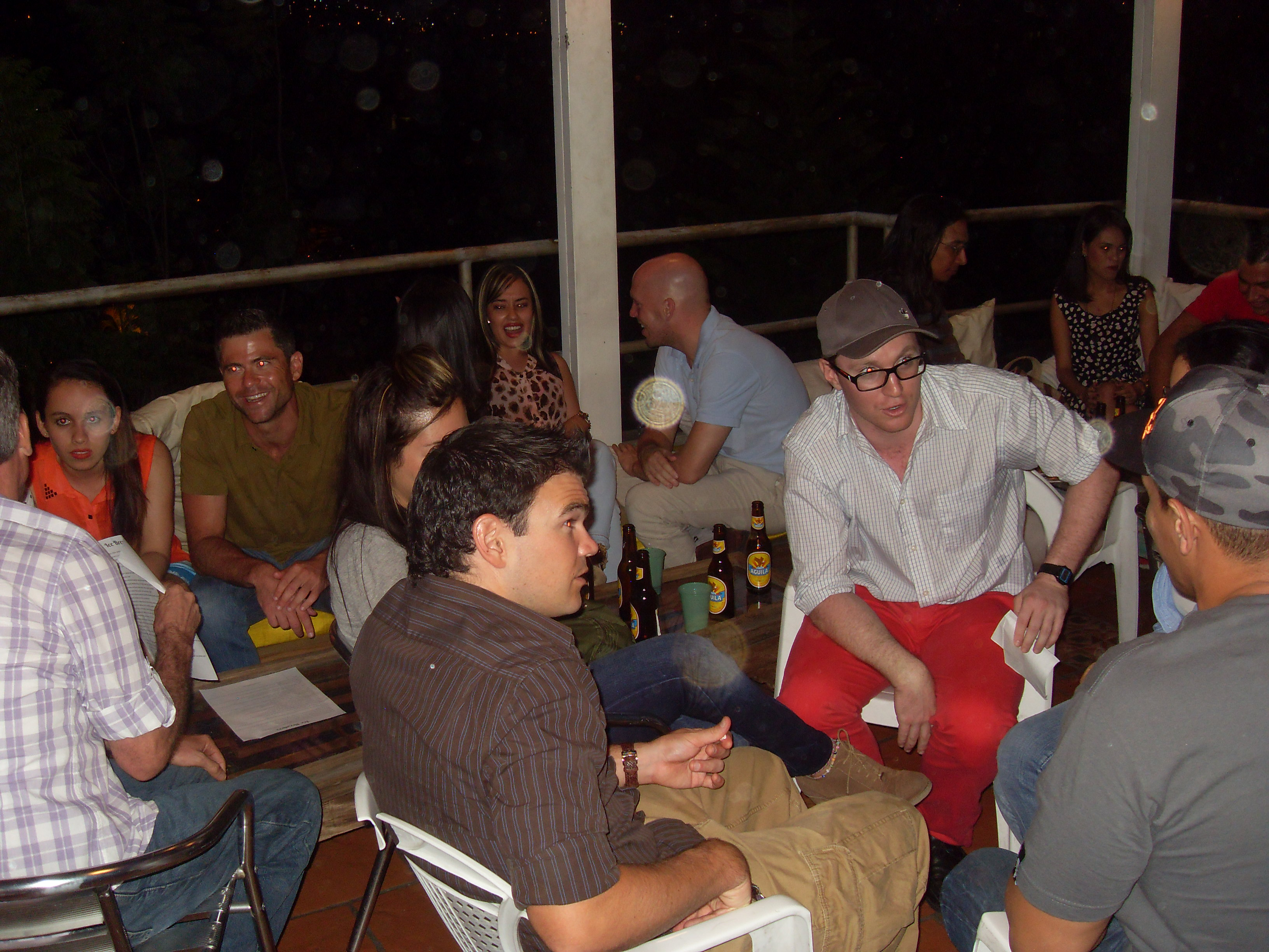Conversation Club and Barbecue – a fun way to practice English in Medellin