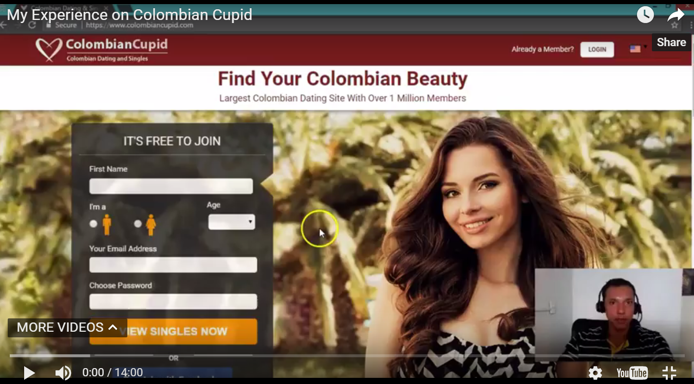 My Colombian Cupid Review Video With Tips and Examples