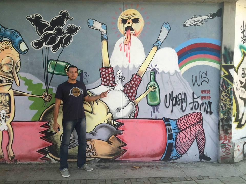 Andrew Macia Downtown Medellin