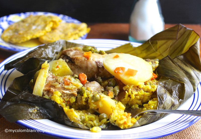 Tamal Tolimense - my favorite Colombian dishes
