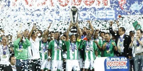 Club Atletico Nacional 2013 Postobon League Champion